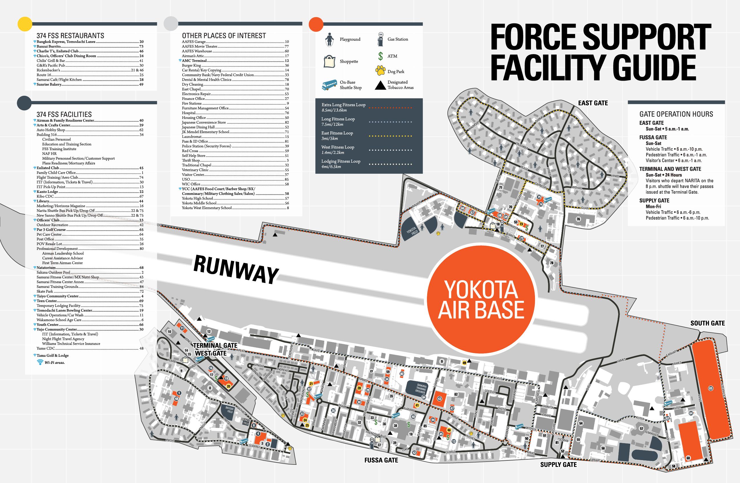 Air Force Base Yokota Japan Map Www Naturalrugs Store